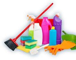 كيف تنظفين ادوات التنظيف